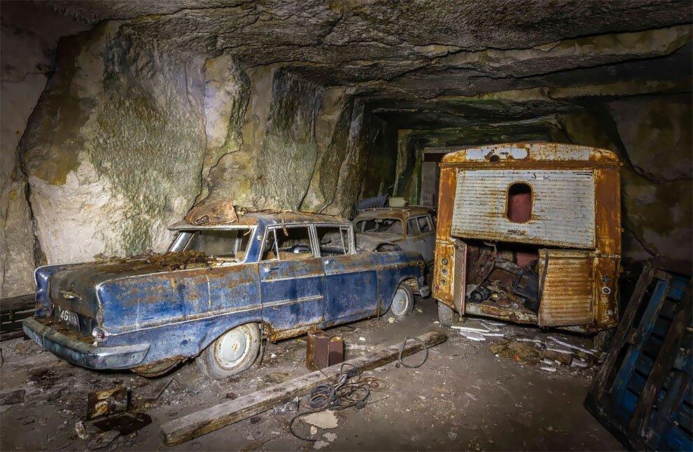 Бельгиец обнаружил кладбище автомобилей времен Второй мировой войны (4)