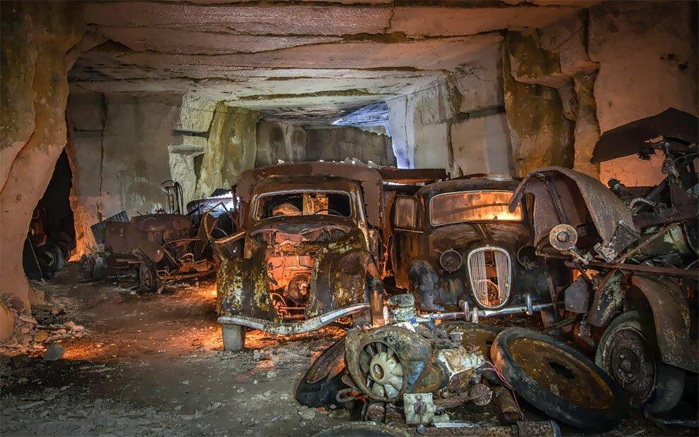 Бельгиец обнаружил кладбище автомобилей времен Второй мировой войны (5)
