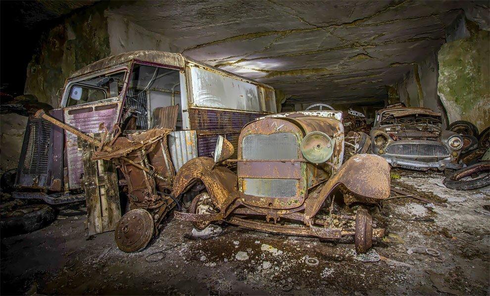 Бельгиец обнаружил кладбище автомобилей времен Второй мировой войны (6)