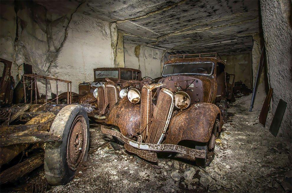Бельгиец обнаружил кладбище автомобилей времен Второй мировой войны (8)