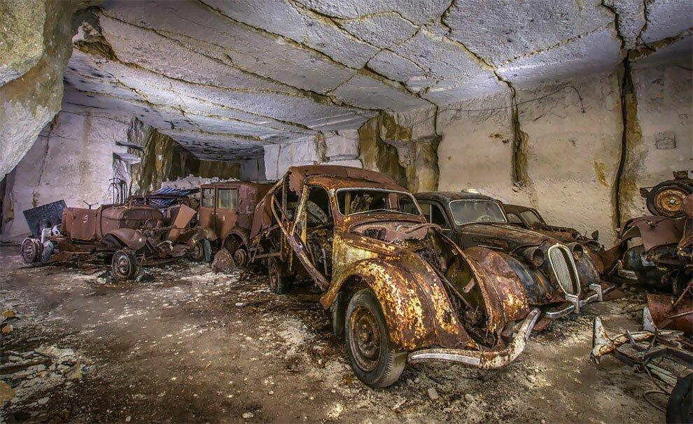 Бельгиец обнаружил кладбище автомобилей времен Второй мировой войны (9)