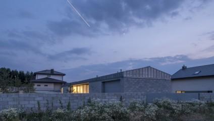 Просто и со вкусом: бетонный семейный дом в Литве
