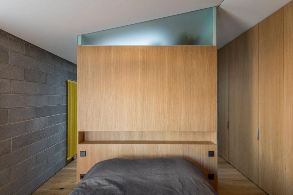 «Бетонный оазис»_ современный одноэтажный особняк в Литве (7)