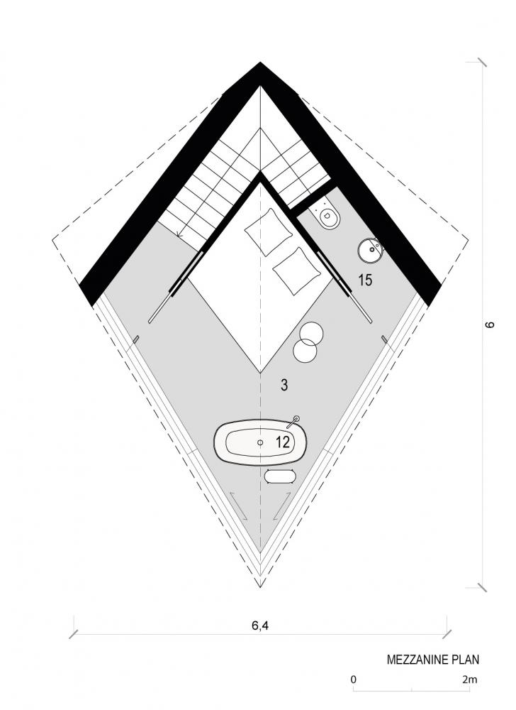 Футуристические домики на деревьях в Доломитовых Альпах Италии (4)