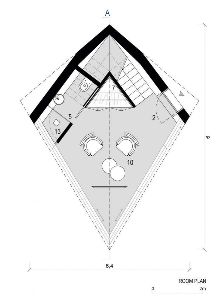 Футуристические домики на деревьях в Доломитовых Альпах Италии (5)