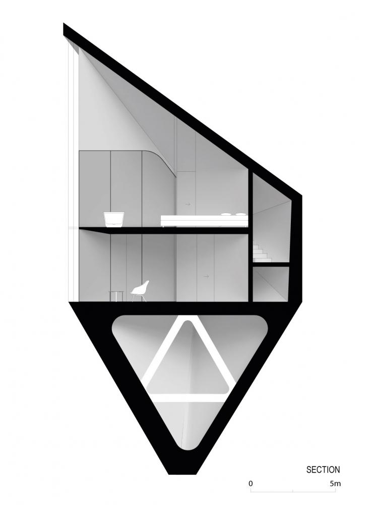 Футуристические домики на деревьях в Доломитовых Альпах Италии (6)