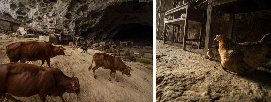 Гигантская пещера в Китае_ в которой поместилась целая деревня на 100 человек (3)