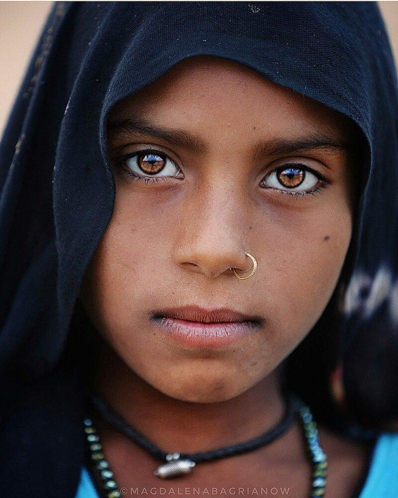 Гипнотические портреты из Индии_ от которых невозможно оторвать взгляд_51 фото_ (10)