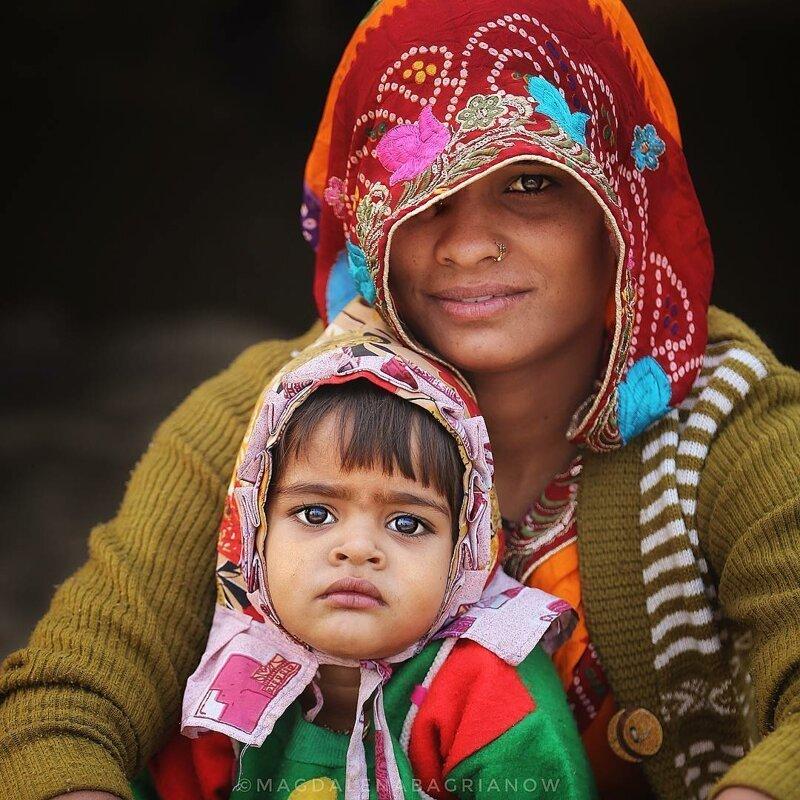 Гипнотические портреты из Индии_ от которых невозможно оторвать взгляд_51 фото_ (15)