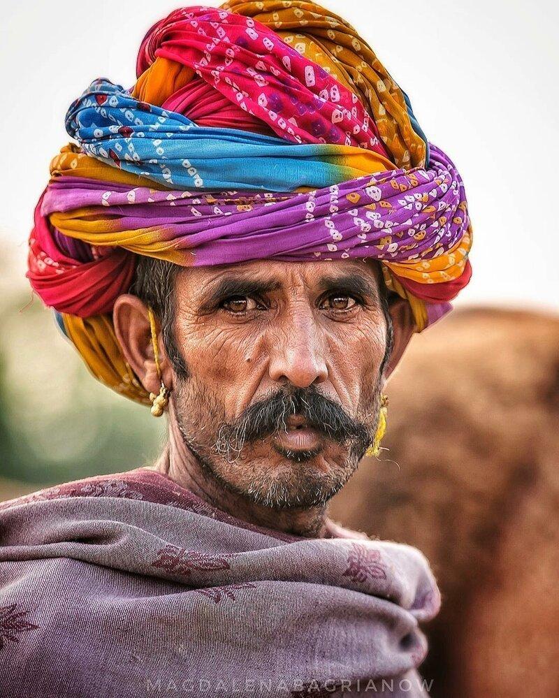 Гипнотические портреты из Индии_ от которых невозможно оторвать взгляд_51 фото_ (3)