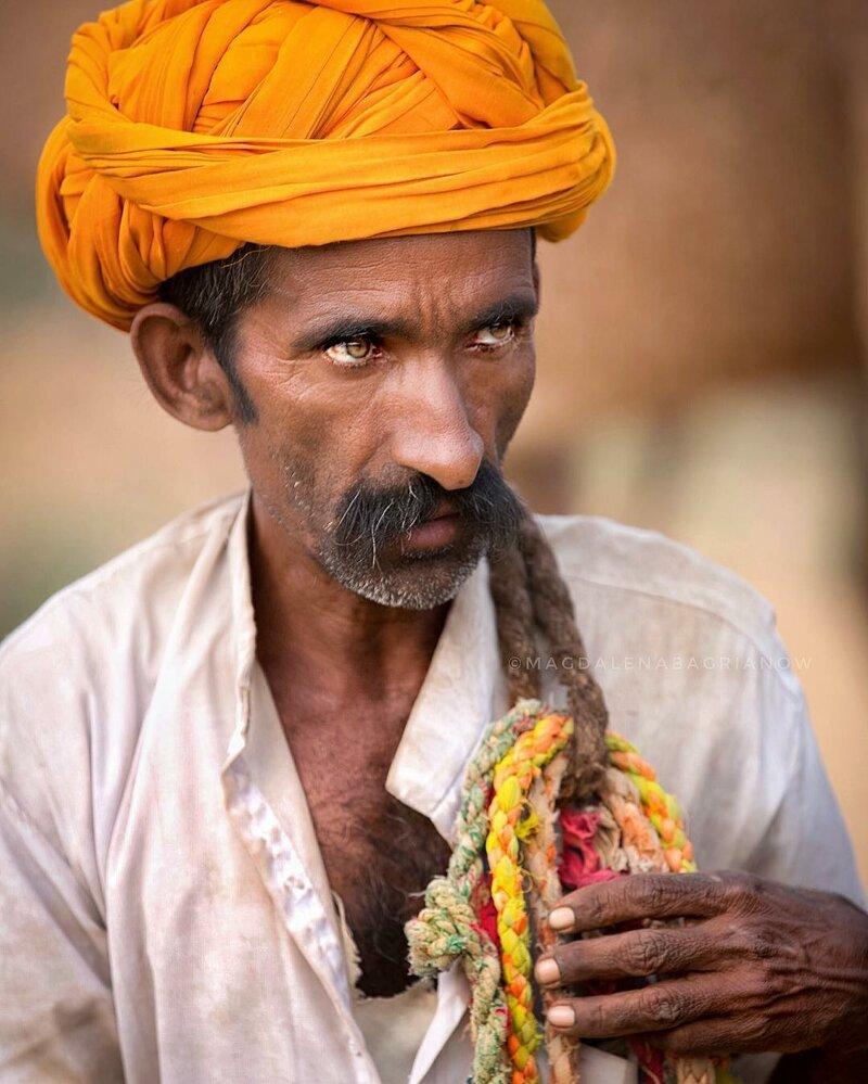 Гипнотические портреты из Индии_ от которых невозможно оторвать взгляд_51 фото_ (8)