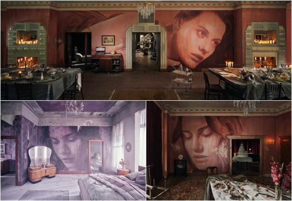 Красота среди руин_ художник превратил заброшенный особняк в уникальный арт_объект