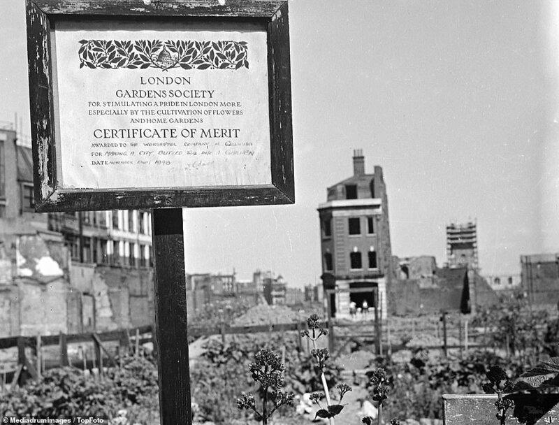 Лондонский блиц_ как британцы оправлялись от бомбежек нацистской Германии_19 фото _ 2 тянучки_ (13)