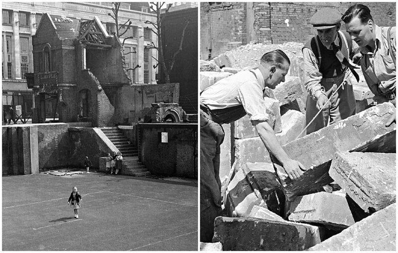 Лондонский блиц_ как британцы оправлялись от бомбежек нацистской Германии_19 фото _ 2 тянучки_ (3)