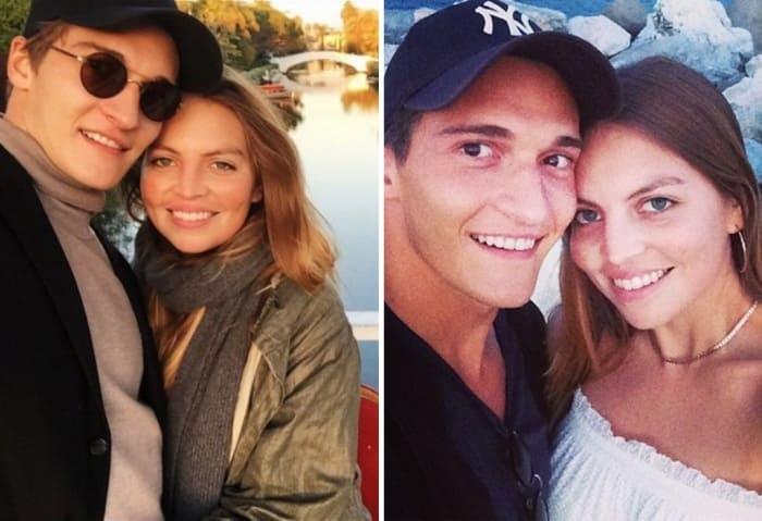 Матвей Лыков с женой Джессикой