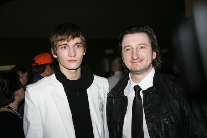 Матвей Лыков с отцом, актером Александром Лыковым