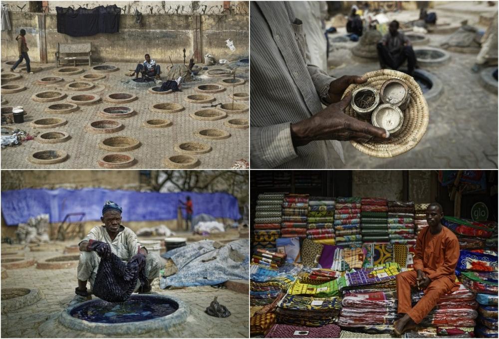 Многовековые красильные ямы в Нигерии (1)