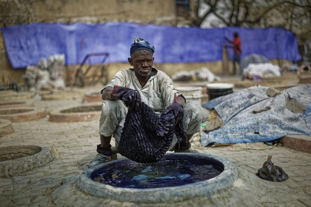 Многовековые красильные ямы в Нигерии (4)