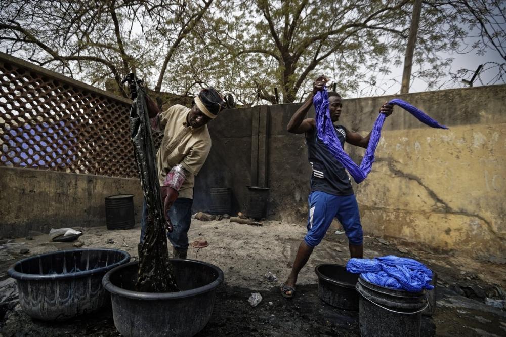 Многовековые красильные ямы в Нигерии (6)