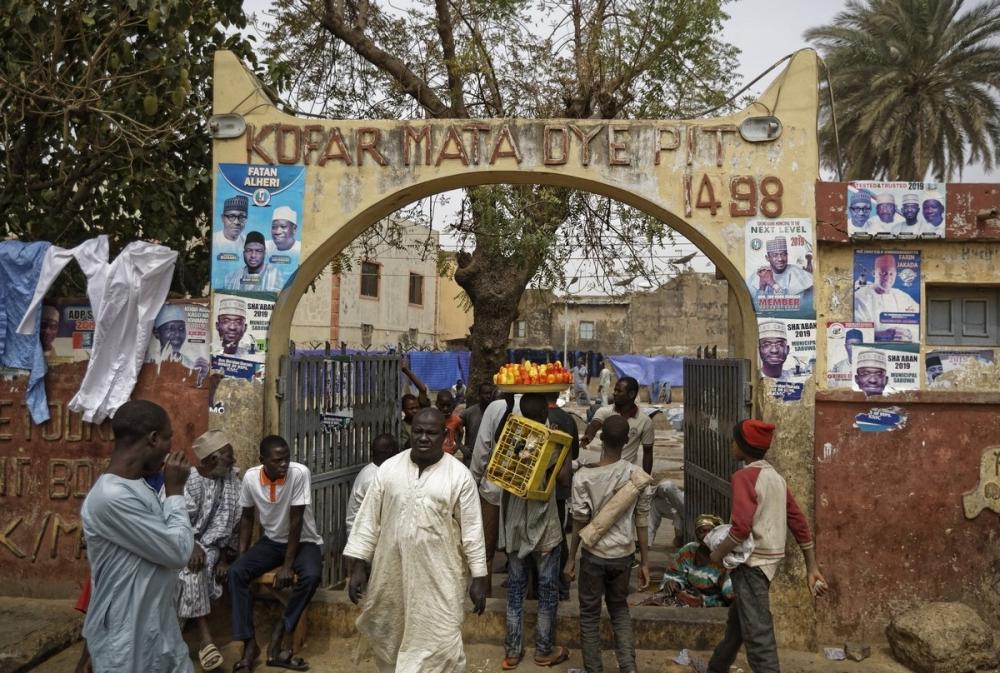 Многовековые красильные ямы в Нигерии (9)