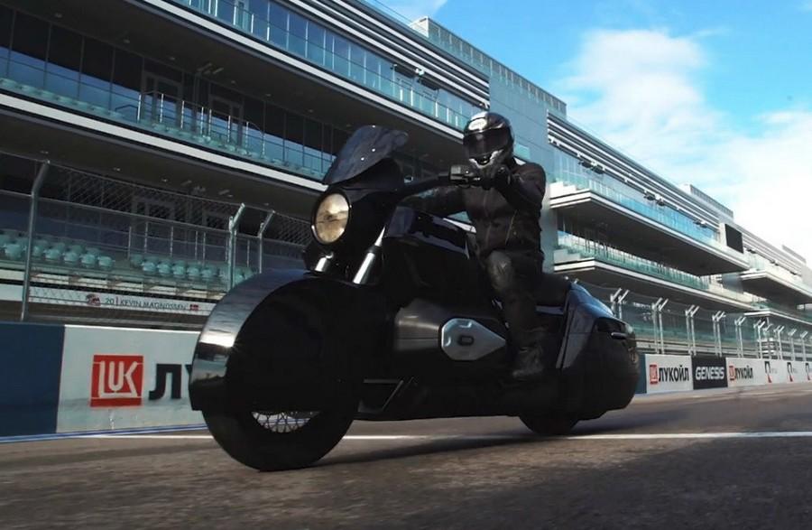 Мотоцикл &171_ИЖ кортеж&187_ стоимостью 4 000 000 рублей