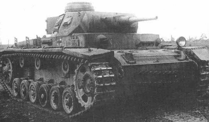 Памятка солдату Красной Армии: всё о немецком танке Т-III