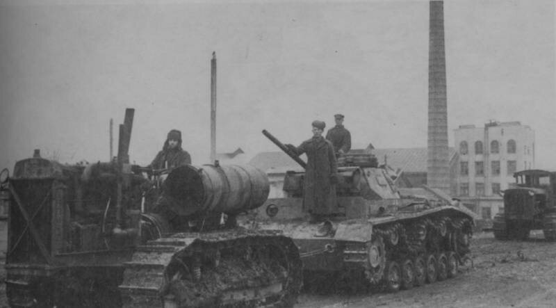 Немецкий средний танк T_III. Памятка бойцу РККА_17 фото_ (8)