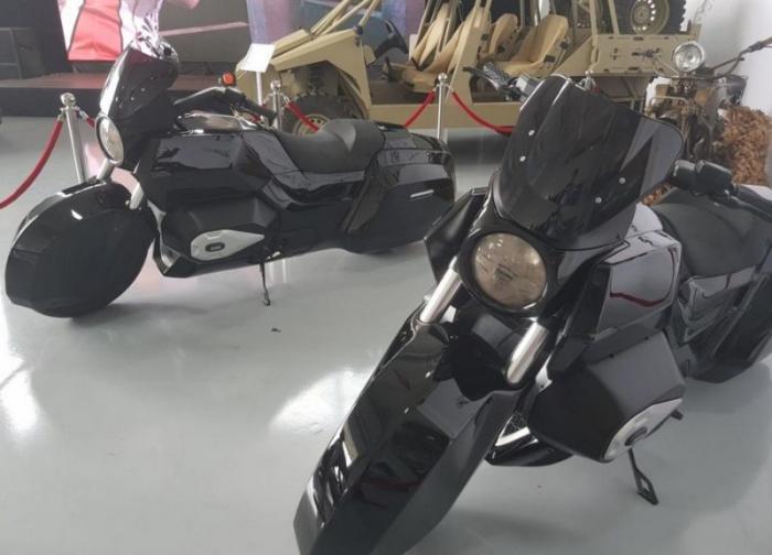 Новое творение концерна Калашникова _ тяжелый мотоцикл (9 фото) (2)