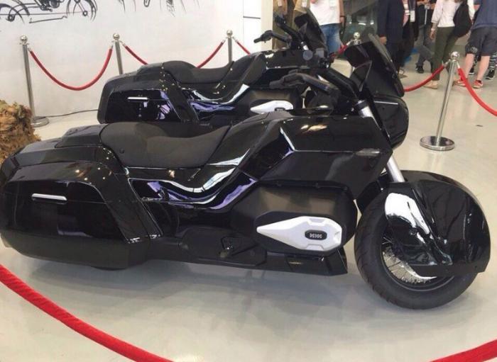 Новинка от концерна Калашникова — мотоцикл