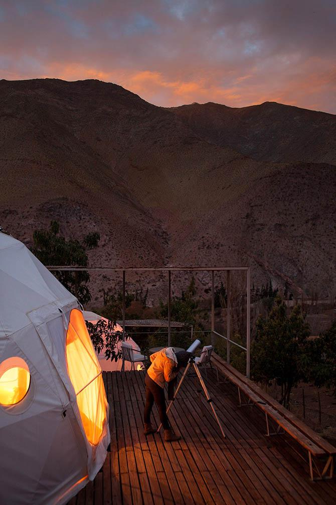 Отель для любителей астрономии (18 фото) (14)