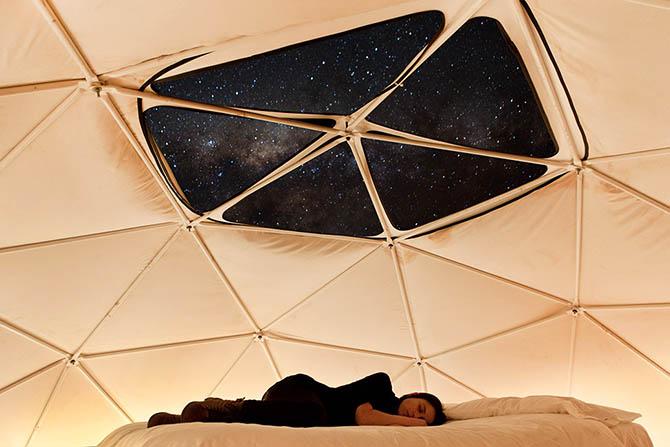 Отель для любителей астрономии (18 фото)