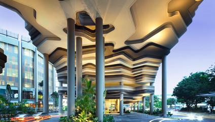 В Сингапуре открыли отель-сад: фото