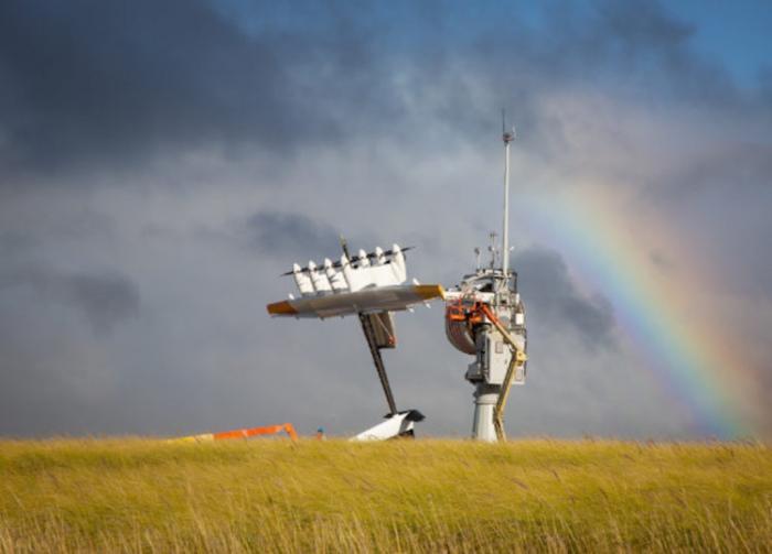 Первую электростанцию с летающими ветряками создадут Shell и Alphabet _2 фото _ видео_