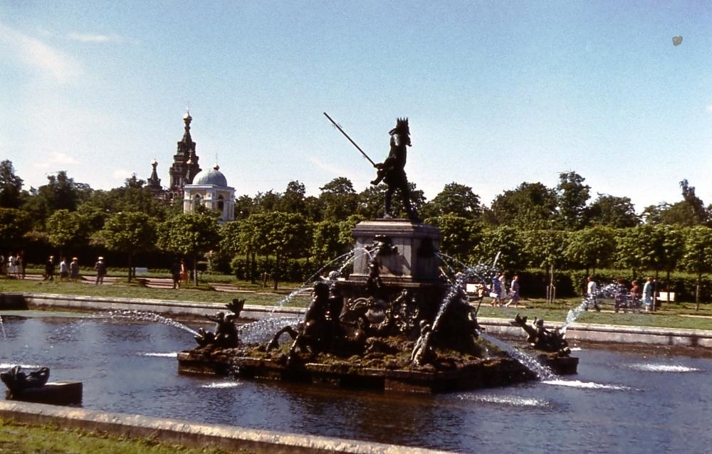 Петергоф в 1983 (11)