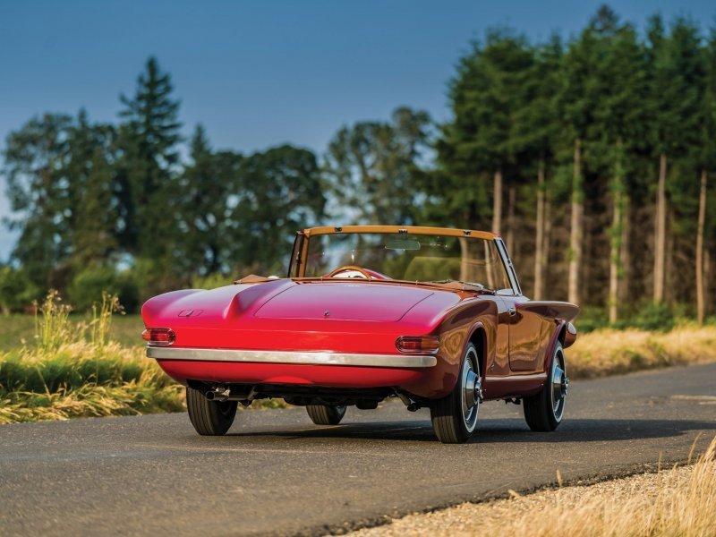 Plymouth Asimmetrica Roadster 1961 – Ужас с откидным верхом_14 фото_ (1)