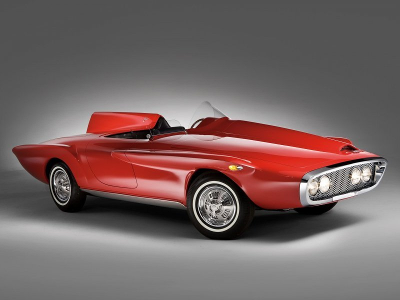 Plymouth Asimmetrica Roadster 1961 – Ужас с откидным верхом_14 фото_ (2)