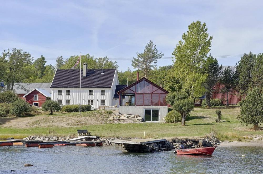 Простой Коттедж в Норвегии (1)