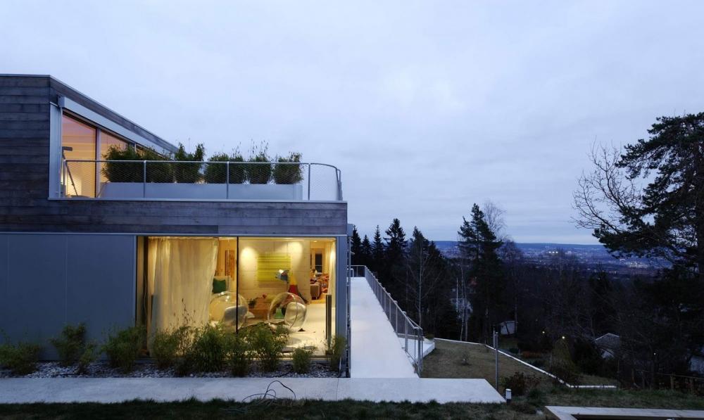 Реконструкция семейной виллы в Норвегии (13)