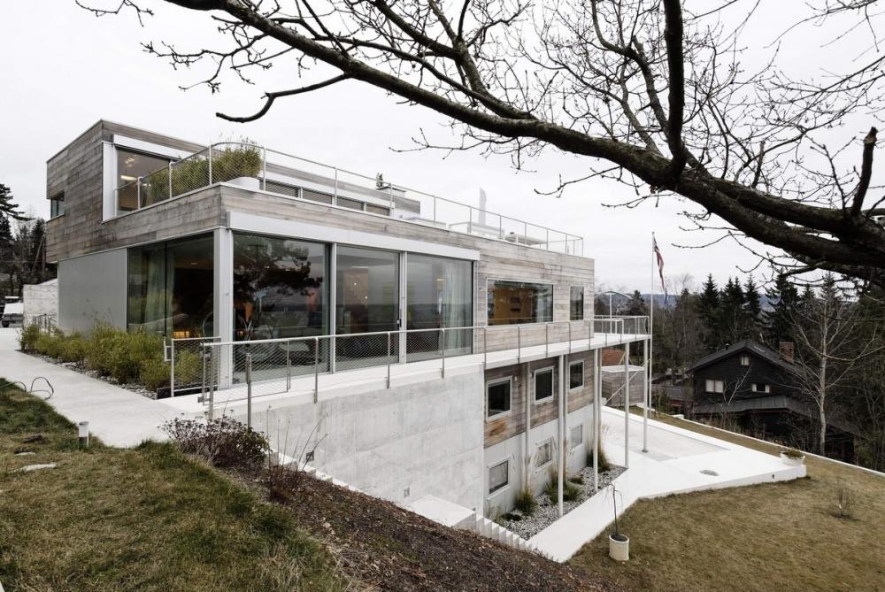Реконструкция семейной виллы в Норвегии (4)