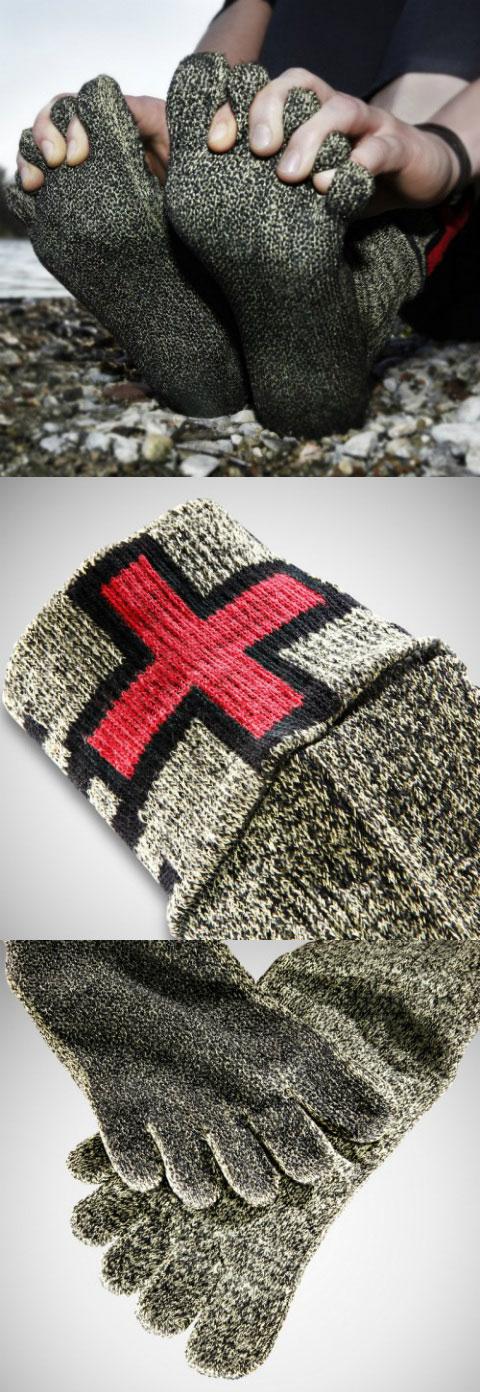 Швейцарские защитные носки_ заменяющие обувь (1)