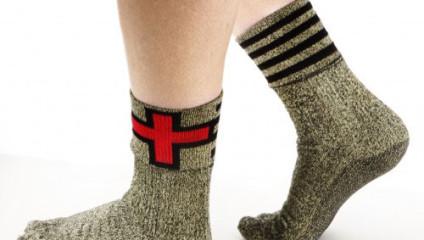 «Швейцарский защитный носок»: когда обувь не нужна