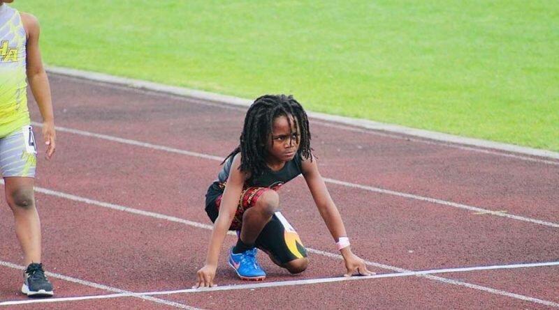 Самый быстрый мальчик в мире пробегает стометровку за 13_48 секунды