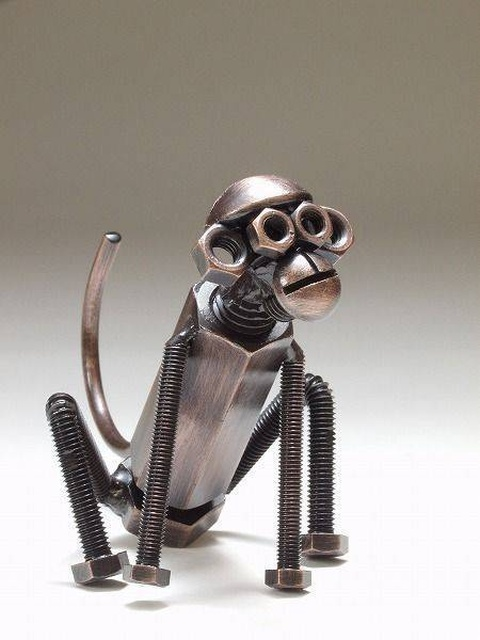 Статуэтки из металлических предметов своими руками (14)