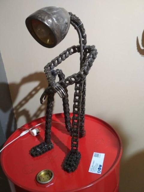 Статуэтки из металлических предметов своими руками (17)