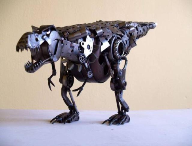 Статуэтки из металлических предметов своими руками (3)