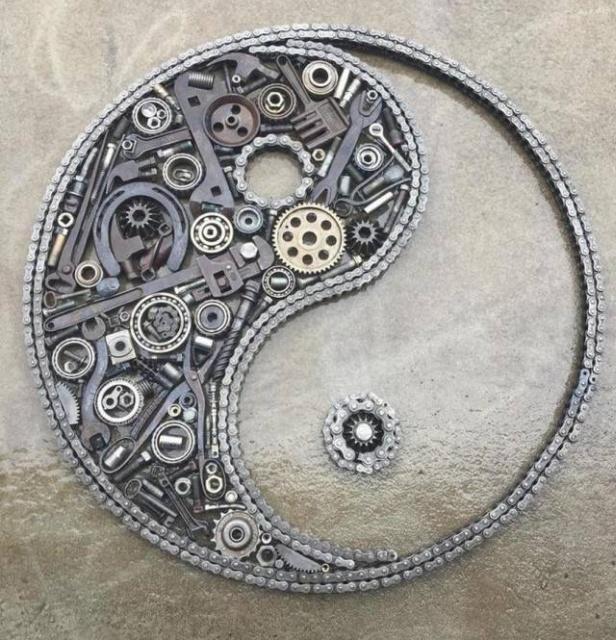 Статуэтки из металлических предметов своими руками
