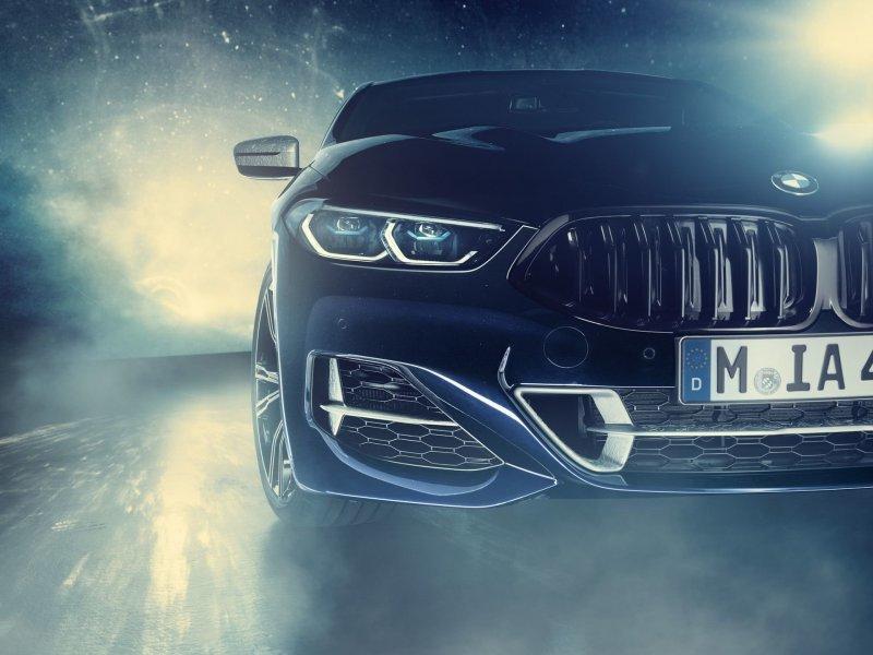 Машина-космос: BMW M850i декорированный метеоритом (фото и видео)