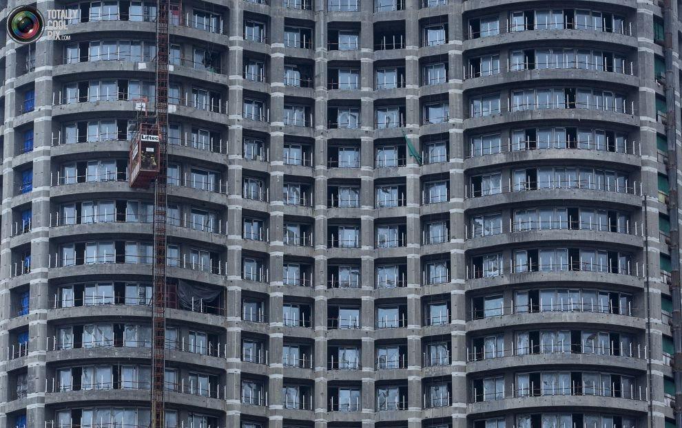 Жилые «муравейники» Мумбая (1)