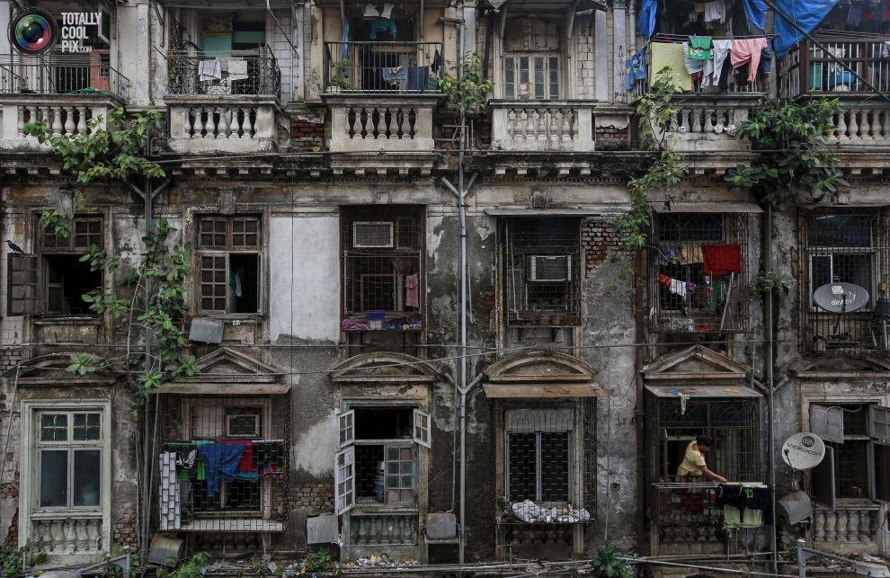 Жилые «муравейники» Мумбая (12)