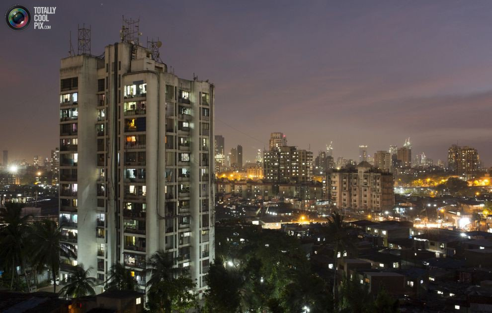 Жилые «муравейники» Мумбая (19)